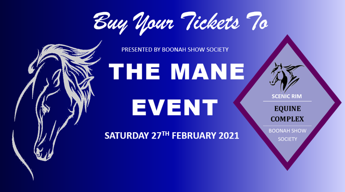 Boonah Show Society The Mane Event